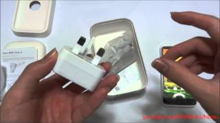 HTC ONE X Unboxing