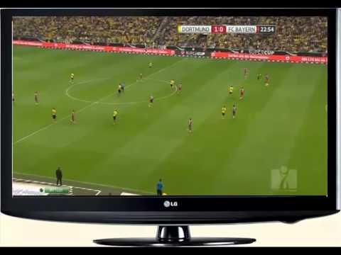 Borussia Dortmund vs Bayern Munich - Henrikh Mkhitaryan Goal