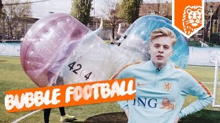 BUBBLE FOOTBALL! TEAM FIX vs. TEAM BAARD - FIFALOSOPHY VVBASVV FC ROELIE MASCHA DEFVIN en JESSE