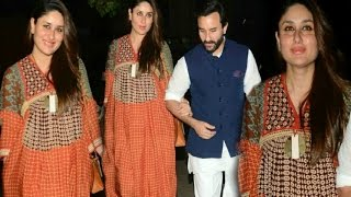 Kareena Kapoor First Appearance After Pregnancy