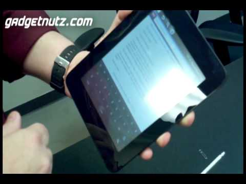 A GadgetNutz.com Exclusive - First Look at new Cruz Android Tablets!