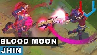 Blood Moon Jhin Skin Spotlight (League of Legends)