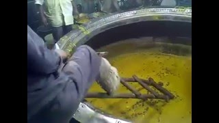 2016 - Live video - Dargah Khwaja Gharib Nawaz - Badi Degh - The Cooking Vessel - Ajmer Shareef