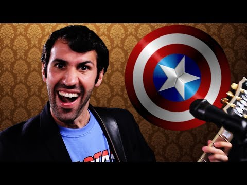 CAPTAIN AMERICA S NEW THEME SONG! (PARODY)