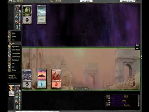 [Cube 1/9/2011] Round 1 meta knightmare vs crooked rain