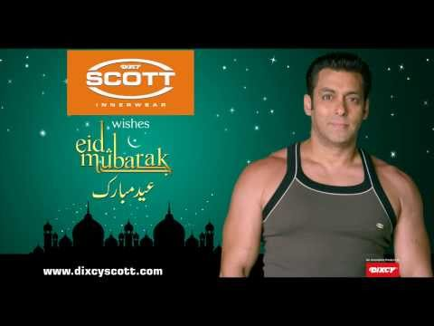 Salman Khan & Dixcy Scott wish you all Eid Mubarak