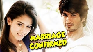 Shahid Kapoor CONFIRMS WEDDING with Mira Rajput | UNCUT VIDEO