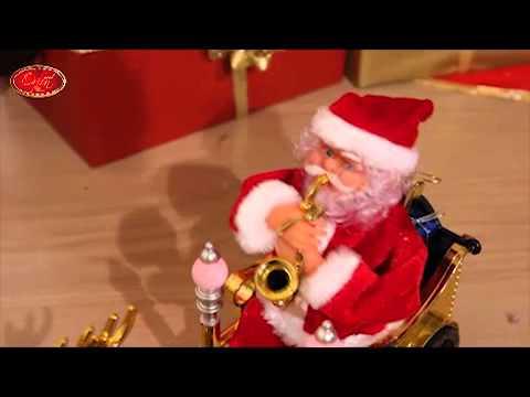 Automate Pere Noel Parachute Pere Noel Automate Musical Sur