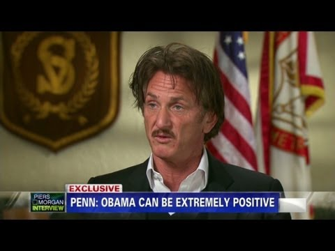 Sean Penn on President Obama