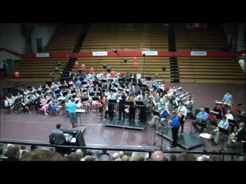 New Philadelphia High School Instrumental Spring Band Concert 2014