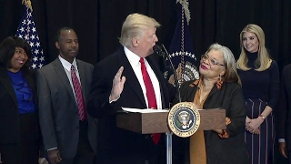 President Trump speech at the National Museum of African American History and Culture