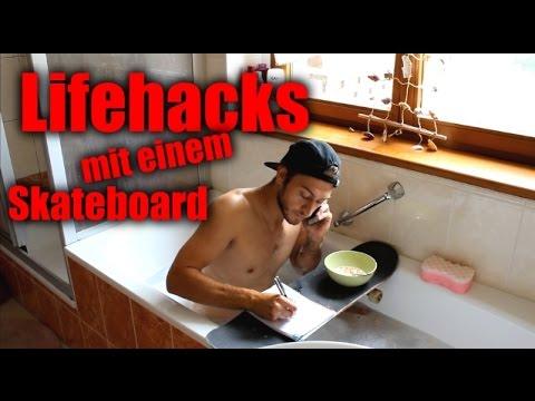 Skateboard Lifehacks !