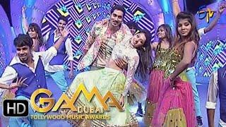 Nirupam,Navya Dance Performance in ETV GAMA Music Awards 2015 - 6th March 2016