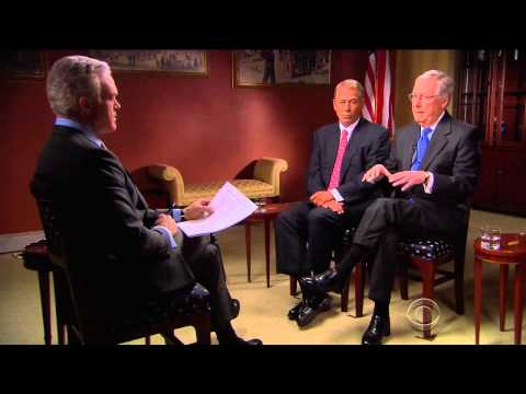 Speaker Boehner and Leader McConnell on 60 Minutes