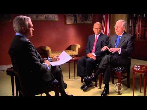 Speaker Boehner and Leader McConnell on 60 Minutes