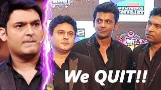 Kapil Sharma in BIG TROUBLE | Sunil Grover, Ali Asgar, Chandan Prabhakar QUIT