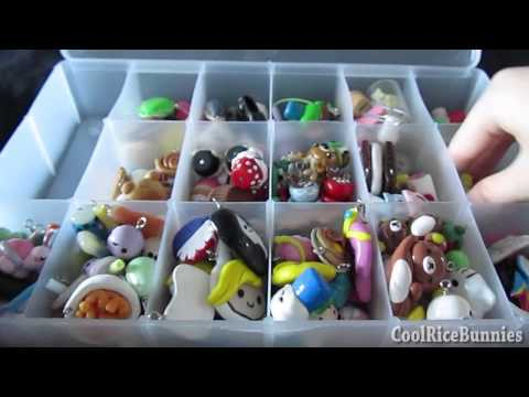 Polymer Clay Charm Collection