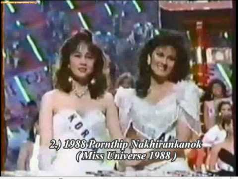 Miss Thailand 1954-2009 in Miss Universe Tribute part 2