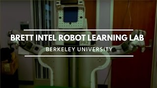 Intel robot tying a knot at Berkeley robot learning lab