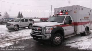 1--20-2017 Flagstaff, AZ - Serious Plow Accident - Snowy Travel