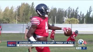 Johnson Looking To Start Fresh at FAU