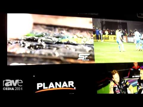 CEDIA 2014: Planar Systems Shows Off UltraRes 4K Series