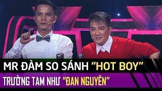 'Hotboy Bolero' Trường Tam được Đàm Vĩnh Hưng so sánh với Đan Nguyên