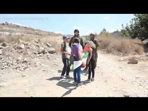 Israeli Settler Threatening To Rape A Little Palestinain Girl video