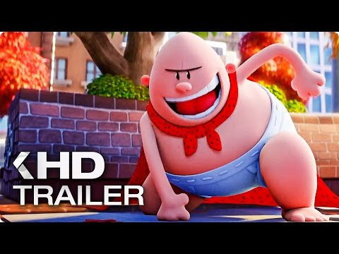 CAPTAIN UNDERPANTS: The First Epic Movie Trailer (2017)