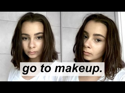 Go to makeup look // everyday | Daria Marie