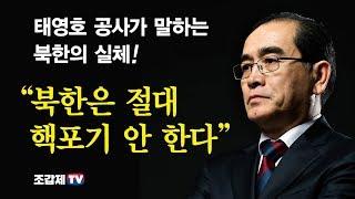 김정은을 화나게 만든 태영호 공사의 직격탄 풀 버전