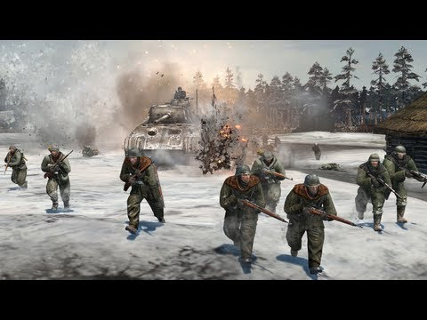 ◀Company of Heroes 2 - Into the Frost