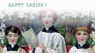 Children on Easter Postcards 1
