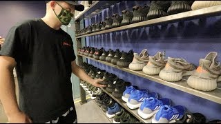 YEEZYBUSTA GOES SNEAKER SHOPPING WITH JUST WYNN