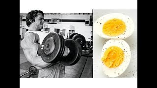 TESTOSTERONE LEVEL OF THE 36 EGG A DAY DIET!