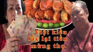 Cộng đồng Việt kiều lấy lại tiền mừng thọ dì 3 bán cua | Dì 3 trả hết nợ - Guufood