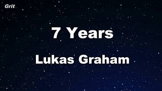 7 Years Lukas Graham Karaoke With Guide Melody Instrumental