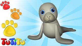 TuTiTu Animals | Animal Toys for Children | Sea Lion and Friends