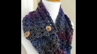 Episode 44: How to Crochet the Estelle Button Cowl