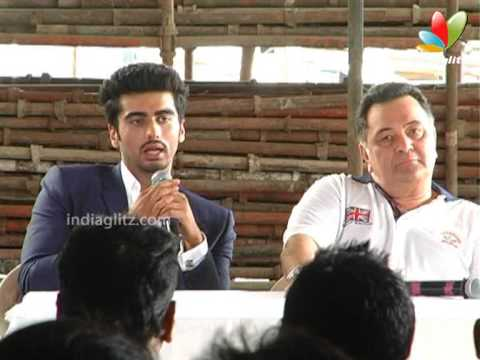 Arjun Kapoor, Rishi Kapoor, Prithviraj At 'Aurangzeb' Press Meet | Bollywood Movie |