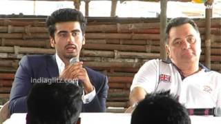 Aurangzeb - Arjun Kapoor, Rishi Kapoor, Prithviraj At 'Aurangzeb' Press Meet | Bollywood Movie |