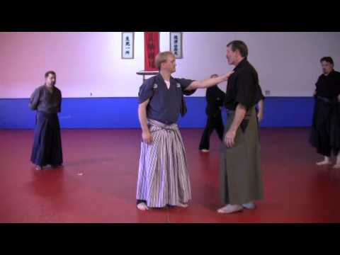 Nami ryu Iowa Aikijujutsu ikajo throw