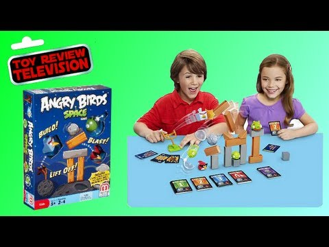 Angry Birds Space Game From Mattel Toy Review.