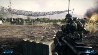 Battlefield 3 HD Gameplay Ultra High Settings + Max AA