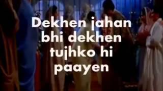 Karaoke dan lirik Kabhi khushi kabhi gham