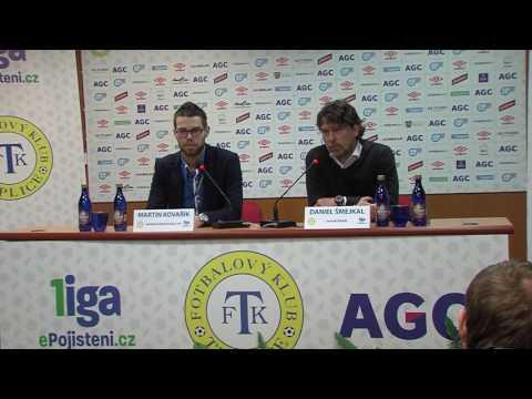 Tisková konference domácího trenéra po zápase Teplice - Příbram (18.3.2017)