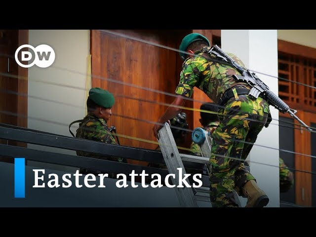 Sri Lanka police arrest suspects in Easter bomb attacks  DW News