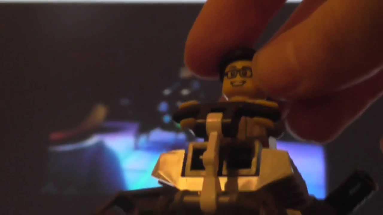 Lego Ninjago Custom Cyrus Borg Before Evil Transformation