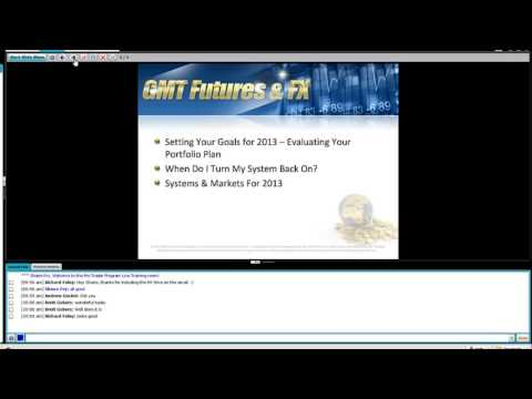 Renko Trading Forex and Futures - Pro Trader Live Training 9th January 2013 Introduction And Agenda