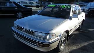 Toyota Corolla Diesel AWD Manual 1990, 86k ml